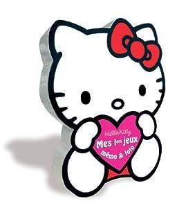 TF1 Games  - 1076 - Jeu enfants  - Hello Kitty Boîte Cadeau 2 en 1 : Mémo et Loto