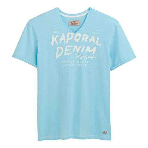 Kaporal Uomo Tshirt A Maniche Corte Proki Taglia 5 Blu