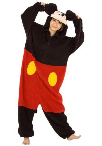 大人用フリース!着ぐるみ!ディズニー ミッキーマウス!