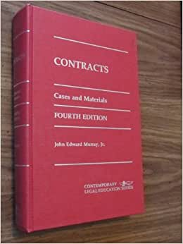 contract cases and materials pdf