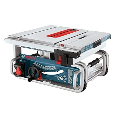 """Bosch GTS1031 10"""" Worksite Table Saw,"""