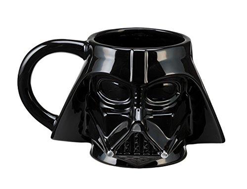 Vandor 99001 Star Wars Darth Vader Sculpted Ceramic Mug, Multicolored