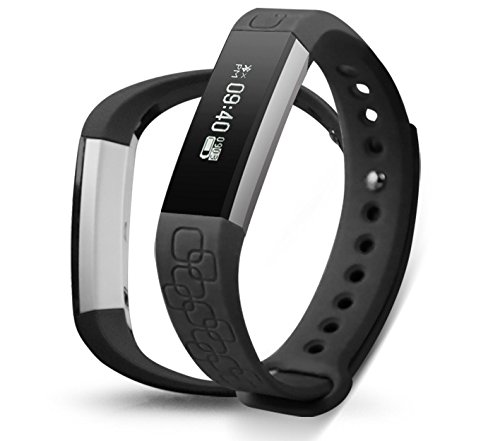 NLSD Heart Rate Smart Watch, Bluetooth 4.0 Waterproof IP67 Wireless Bracelet Activity Pedometer Fitness Tracker Wristband