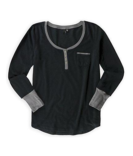 kensie-womens-fleece-henley-shirt-greyprt-l