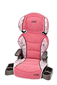 Evenflo Big Kid LX Booster Seat, Daisy Swirl