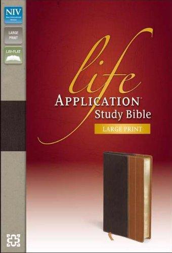 NIV*Life Application Study Bible/Large Print-Chocolate/Tan DuoTone PDF
