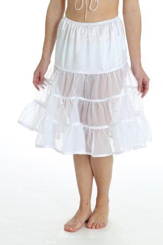 Hammerschmid Damen Unterwäsche & Unterrock 23807 60 cm Petticoat weiß kaufen