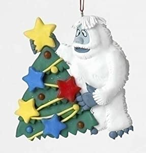 4 bumble the abominable snowman with tree for Abominable snowman christmas decoration