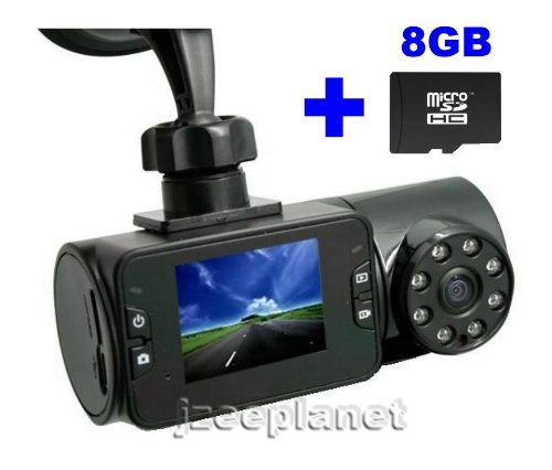 "Mini Hd 720P Car Camcorder Single Lens Ir Camera 4Gb Video Recorder Dvr Cam 2.0 "" Tft Lcd Monitor"