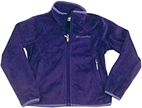 Columbia Girls Fast Beauty Full-zip Mockneck Jacket