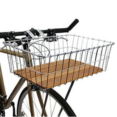 Wald Woody Standard Large Front Handlebar Bike Basket - 139WW