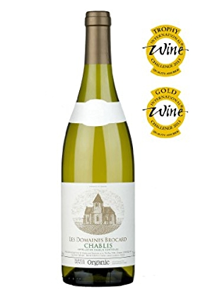 Organic Chablis Brocard 2011 France