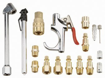 Central Pneumatic 17 Piece Air Tool Accessory Kit (Central Pneumatic Air Gun compare prices)