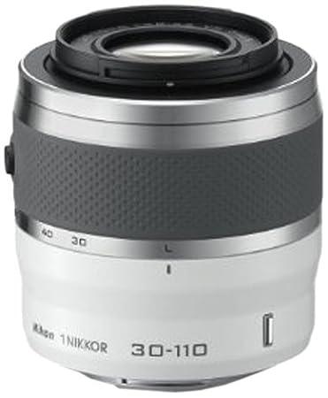Nikon JVA703DB Objectif 1 Nikkor VR 30-110 mm f/3.8-5.6 Blanc Laqué