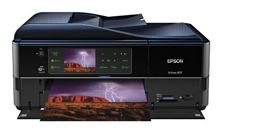 Review Of Epson Artisan 837 Wireless All-in-One Color Inkjet Printer, Copier, Scanner, Fax, iOS/Tabl...