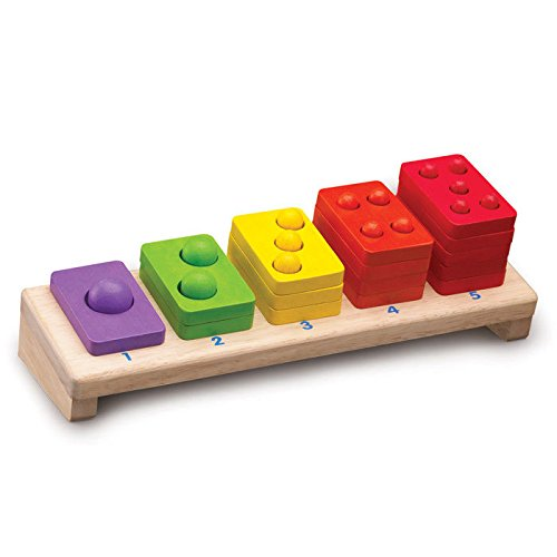 1-5 Stacker Wooden Activity Toy