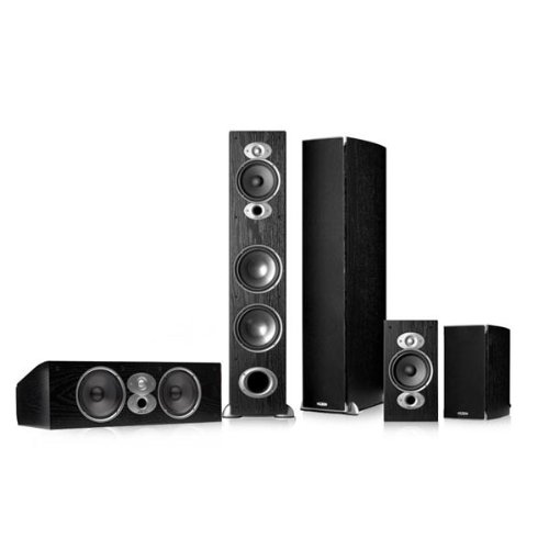 Polk Audio Rti A7 5.0 Home Theater Speaker Package (Black)