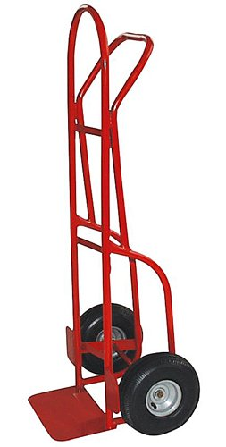 Milwaukee Hand Trucks 49290 Flow Back Handle Truck With 10-Inch Pneumatic Tires front-532099