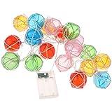 MagiDeal 2m 20 LEDs Light Chain Fairy String Light Wedding Party Decor Lighting Balls