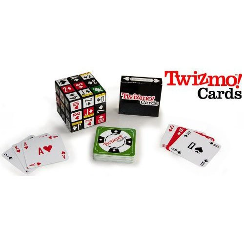 Twizmo! Cards Family Strategy Poker Card Game with Twist Cube