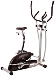 Top V-fit MCCT1 Combination 2-in-1 Magnetic Cycle-Elliptical Trainer -image