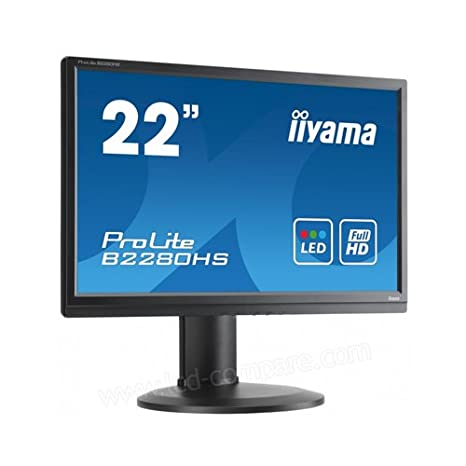 "iiyama B2280HS-B1DP Prolite Ecran PC LED 21.5"" (54,61 cm ) 1920x1080 2milliseconds"