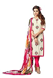 marvadi collections Cool Pink Salwar Suit