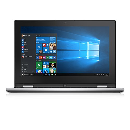 Dell Inspiron i3000-101SLV 11.6 Inch Convertible Touchscreen Laptop (Intel Celeron, 2 GB RAM, 32 GB SSD)