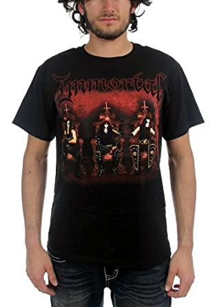 Immortal - Demons Of Metal Adult T-Shirt, X-Large, Black