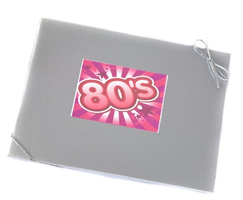 'Sweet in the 80's' - Retro Sweet Selection in Silver Gift Box Celebrating the Eighties.