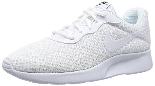 Nike Herren Tanjun Turnschuhe, Elfenbein (Blanco Blanco White/White-Black), 42 EU thumbnail