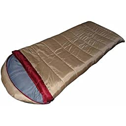 Ozark Trail 20F degree Cold Weather Sleeping Bag Detachable Hood