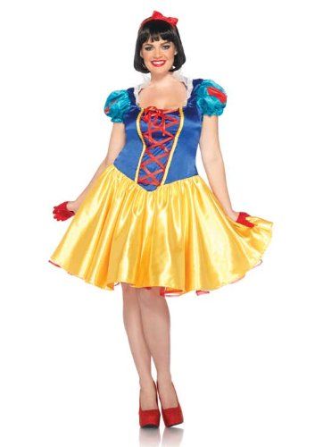Halloween 2017 Disney Costumes Plus Size & Standard Women's Costume Characters - Women's Costume CharactersLeg Avenue Disney Plus-Size 2Pc. Classic Snow White Costume Dress and Bow Head Piece, Up to Plus Size 3X-4X