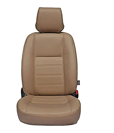 Autofurnish CZ 104 Ice Beige Leatherite Seat Covers For
