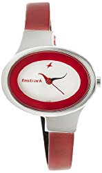 Fastrack Economy Analog White Dial Womens Watch - NE6015SL01