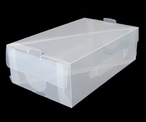 Clear Shoe Boxes - 70 Pack
