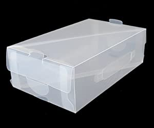 Clear Shoe Boxes - 10 Pack