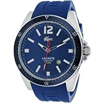Lacoste Seattle Blue Dial Stainless Steel Mens Watch 2010665