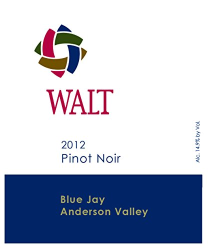 2012 Walt Blue Jay Anderson Valley Pinot Noir 750 Ml
