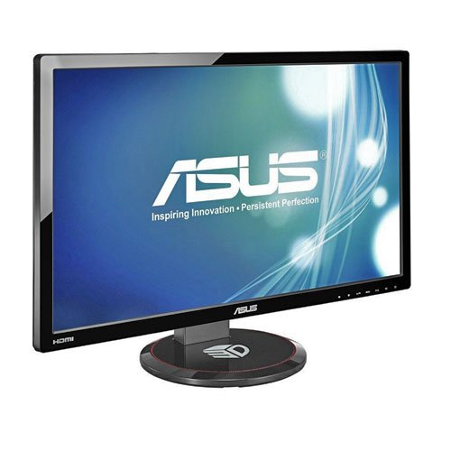 Asus VG278HE 27-inch Widescreen LED Multimedia 3D Monitor (1920x1080, VGA, HDMI, DVI, Headphone Jack) - Glasses Not Included