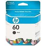 Hewlett Packard HP 60 Black Ink