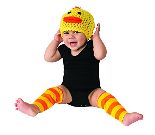 Rubie's Costume Co Baby's Duck Costume Kit, Yellow, 6-12 Months - 1