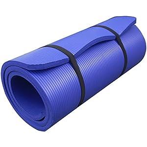 ScSPORTS Tapis de sol L 100cm Bleu violette