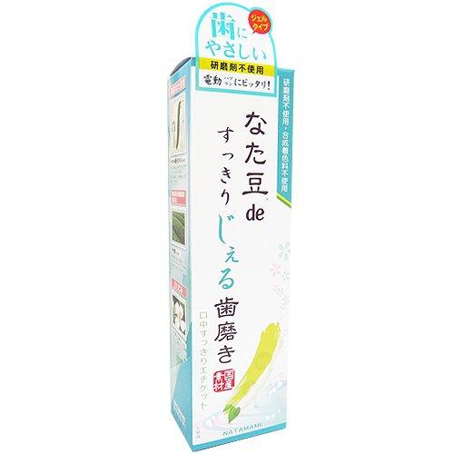 三和通商 なた豆deすっきりじぇる歯磨き 120g