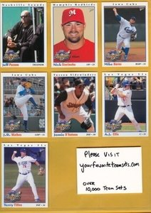 2008 PCL All-Stars Florida Marlins Team Set MINT 3 Cards by Multi-Ad