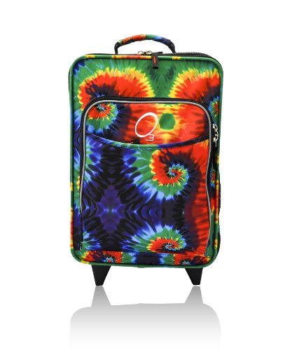 Obersee Kids Luggage With Integrated Snack Cooler, Tie Dye