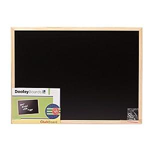 Dooley Wood Framed Chalk Board, 17 x 23 Inch, 1 Board (1824CH)