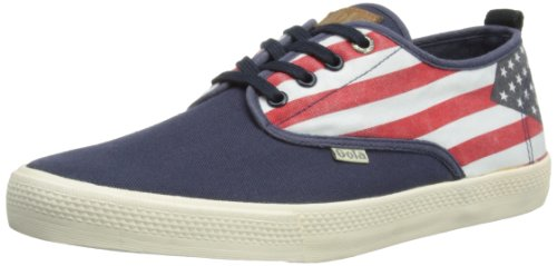 Gola Mens Falcon Nations Low-Top CMA 554 Navy/Multi 8 UK, 42 EU