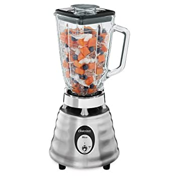 Timeless looks and powerful performance combine in one sleek machine. The Oster Beehive Blender has a classic toggle switch which controls two speeds and a whopping 600 watts of power. It's got every blending possibility covered, from frozen drinks t...