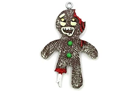 Gingerbread Zombie Ornament